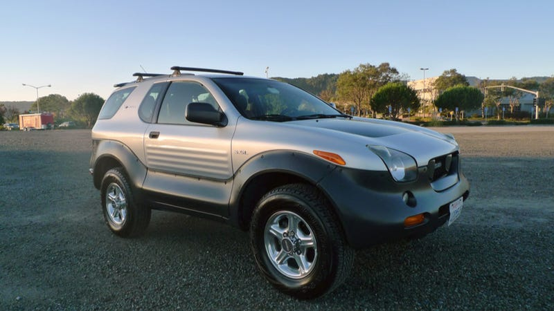 Why The Isuzu Vehicross Is The Next Great Future Classic