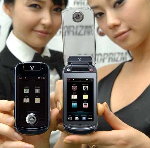 Motorola Prizm Gives Diet Advice