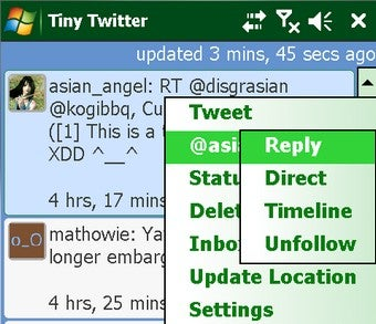 Tiny Twitter Brings Twitter to Your Windows Mobile and Java-Enabled Phones