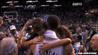 Tim Duncan And His Kids Were Adorable