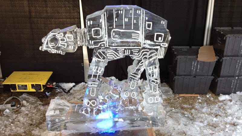 Right At Home On Hoth