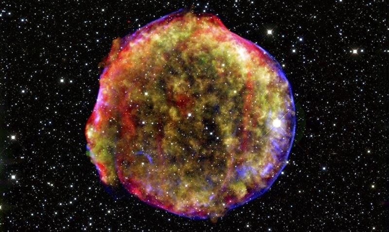 Tycho's Supernova, 400+ Years Later