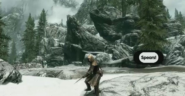 Kinect-Enabled Shouts and Dragon Mounts: Will Skyrim's 'Game Jam' Experiments Ever See the Light of Day? [Updated with Video]