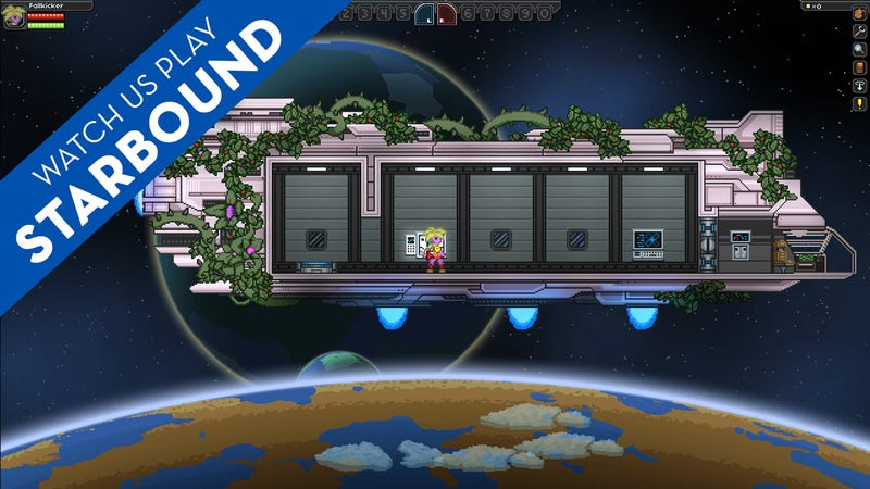 Watch Us Explore The Galaxy In Starbound