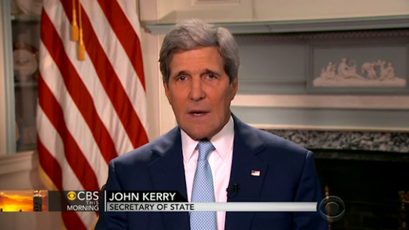 John Kerry Urges Edward Snowden to 'Man Up' and Return to the US