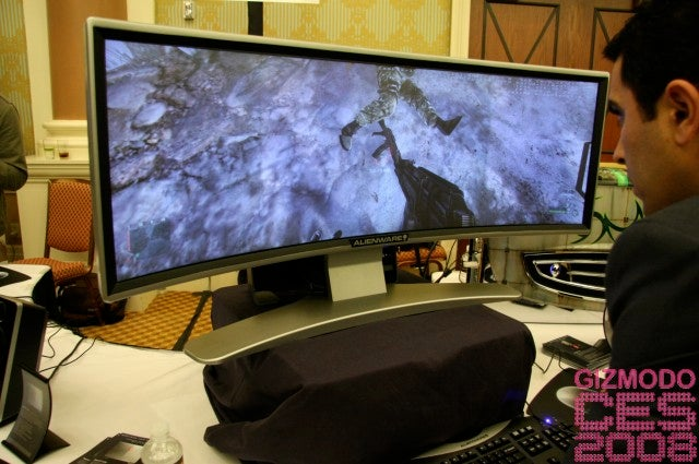 Alienware Curved Monitor Looks Like It's From Another Planet