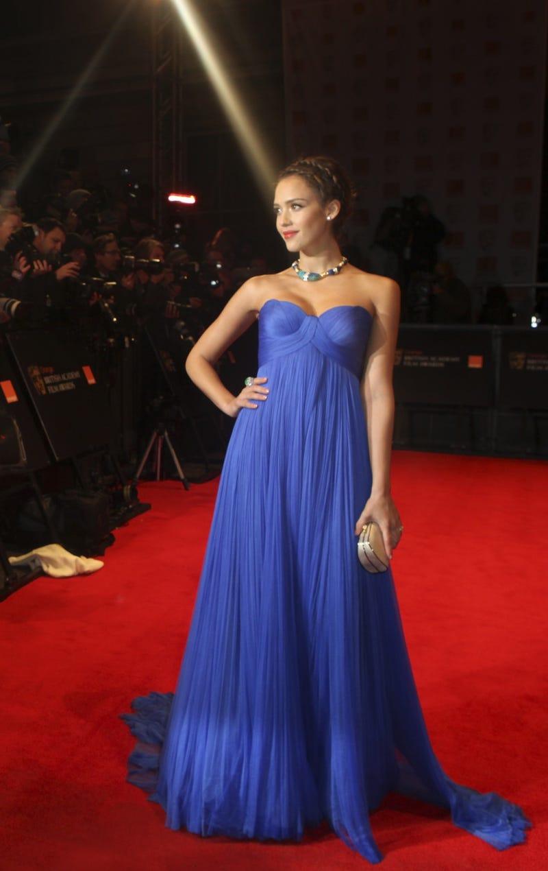 Jessica Alba's Feeling Blue