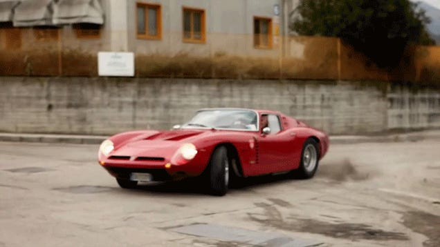 This Gentleman Doing Donuts In An Iso Grifo Is Cooler Than You