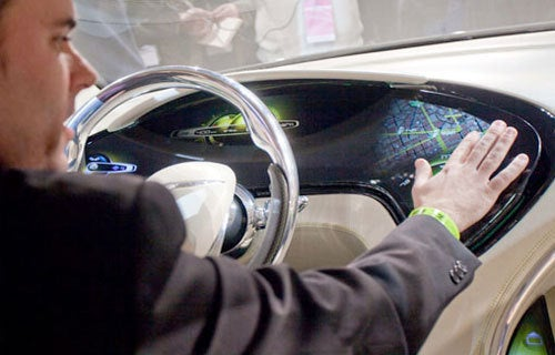 The Car Dashboard of the Future - A New Place To Play?