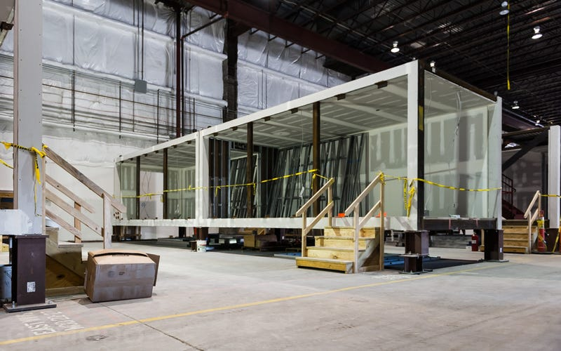 Inside the NYC Super-Factory Building America's Tallest Prefab Tower