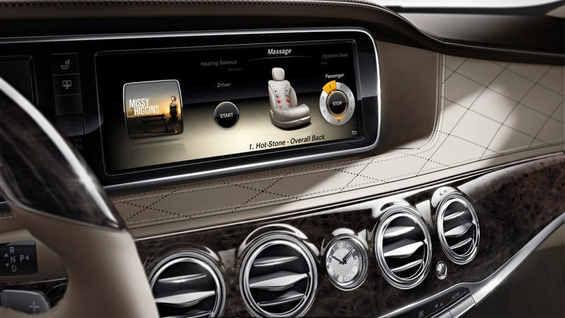 The 2014 Mercedes S-Class Offers Cloud-Based Infotainment And Hot Massaging Seats
