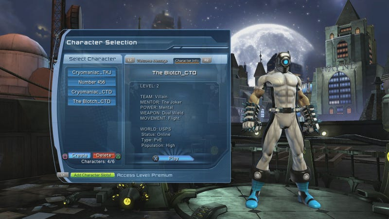 DC Universe Online Isn't Like Other PS4 Launch Titles