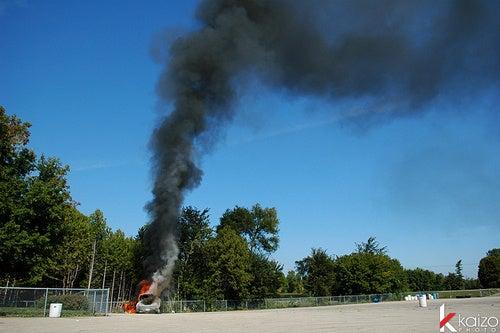 Hyundai Genesis Fire