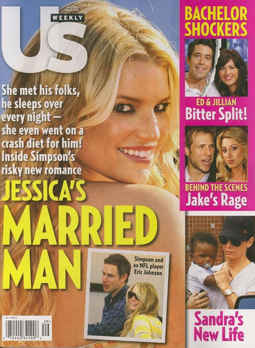 This Week In Tabloids: Jessica Simpson's New Man Knocks Her Up, Puts Her On A Diet