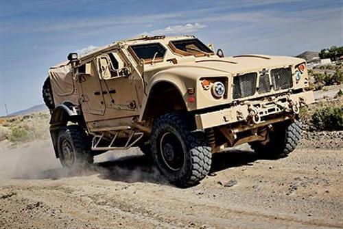 Oshkosh M-ATV: The US Military's Badass New Off-Roader