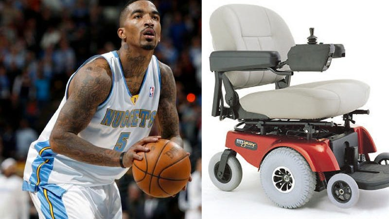 Nuggets' J.R. Smith Arrested For Illegal Scootering, Proving That He Is Fresher Than You