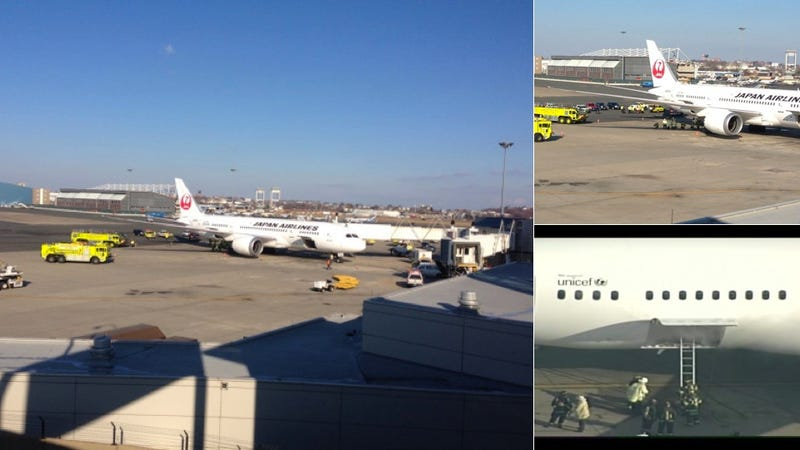 A Boeing 787 Dreamliner Is Reportedly On Fire At Boston's Logan Airport [UPDATED]
