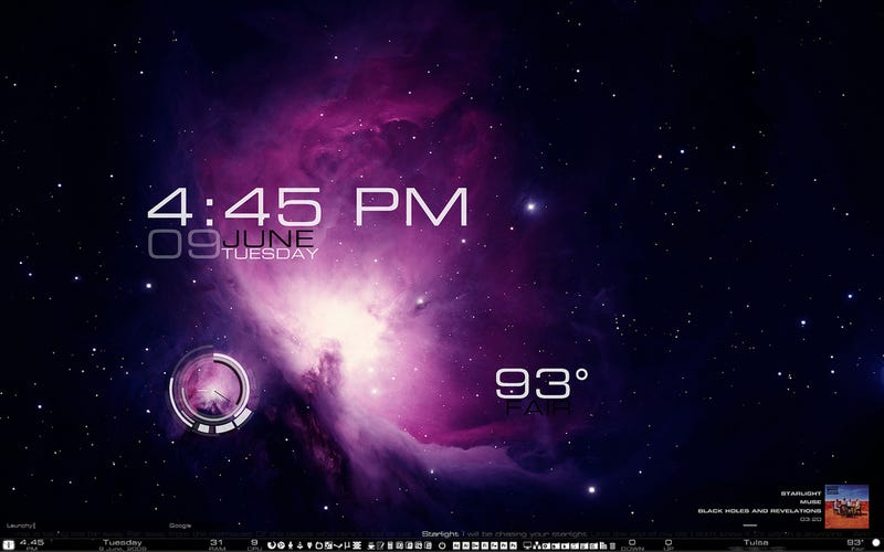 The Starlight Desktop