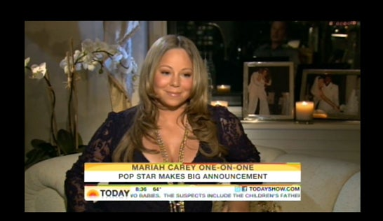 Mariah Carey Admits She Is Pregnant