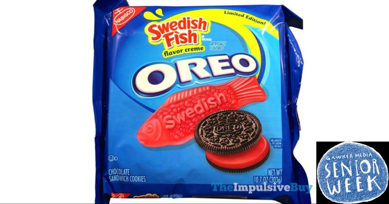Bring Me These Swedish Fish Oreos, Okay?