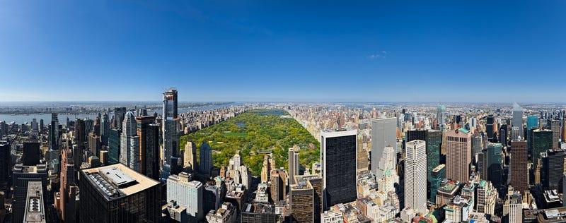 Drones Spy Your Future Skyscraper View