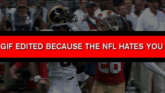 Sam Bradford Doesn't Need This: Your Rams-49ers GIF Roundup