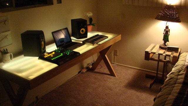 The Glowing Audio Workstation