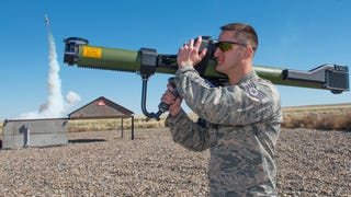 This Shoulder Mounted Sim Trains Pilots To Evade Surface-To-Air Missiles