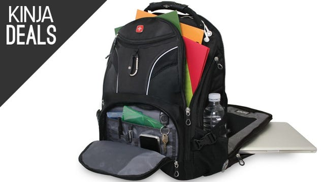 Your Gadgets Deserve These Discounted SwissGear Bags