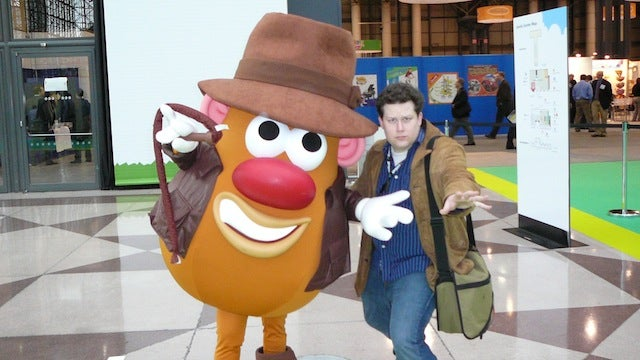 Rob Bricken joins io9's staff, and even Mr. Potato Head is marginally excited