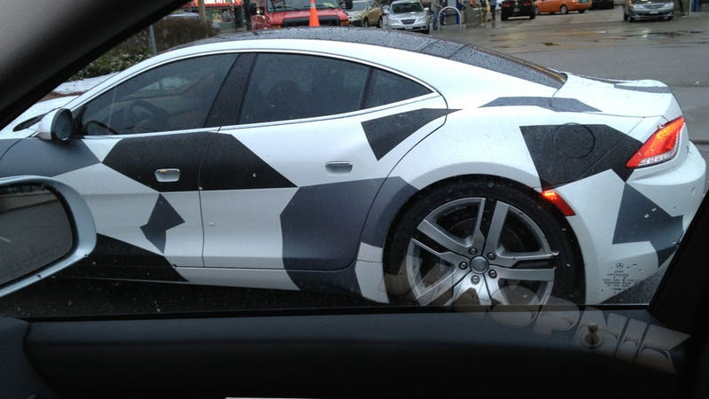 Why Is There A Disguised Fisker Karma Driving Around?
