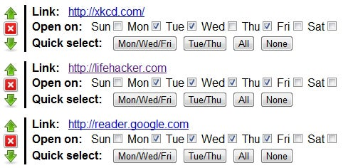 How to Automatically Open a Set of Links in Your Browser Every Morning
