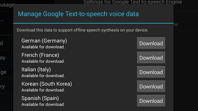 how to get google text to speech