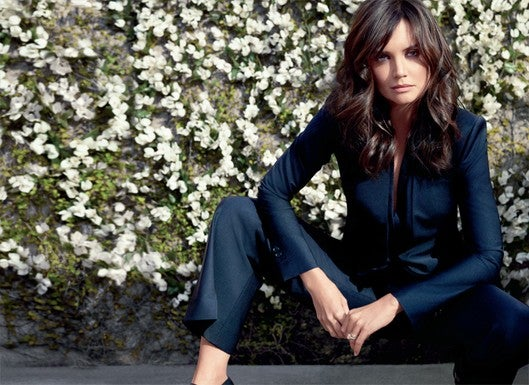 Katie Holmes, Face Of Ann Taylor, Coming To A Billboard Near You