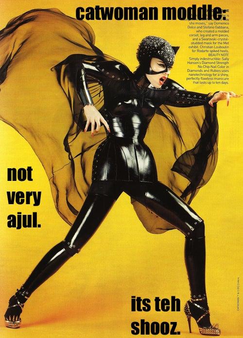 LOLVogue: Superhero Photo Shoot Gets Super Stoopid