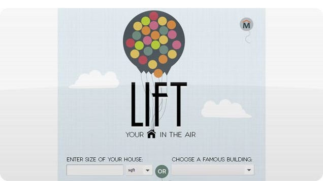 How Many Balloons Would You Actually Need To Lift a House?