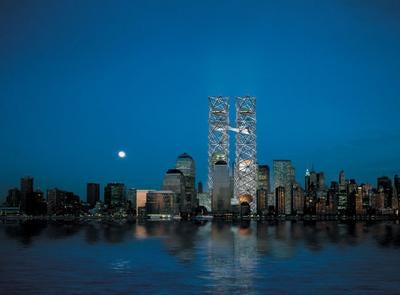 Designs for the towers