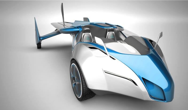 The Aeromobil 2.5 Is The Flying Car You've Always Wanted