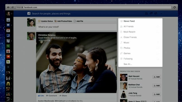 Facebook's New News Feed: The Biggest Change In Years