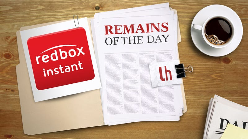 Remains of the Day: Redbox Instant Enters Beta