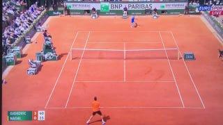 This Nadal-Djokovic Point Is Absurd