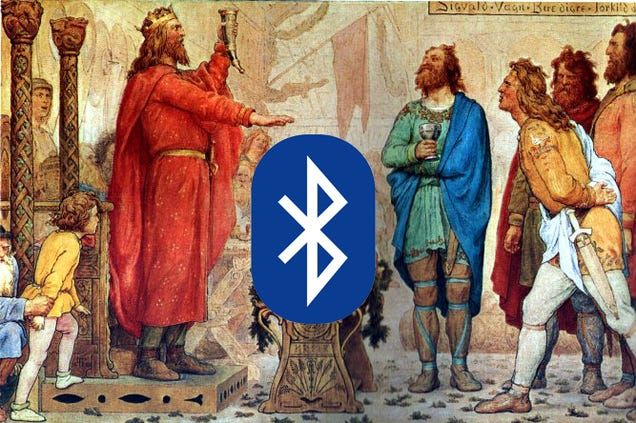 Bluetooth is named after a medieval king who may have had a blue tooth