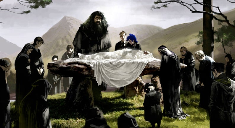 The Harry Potter Funeral You Never Saw On Screen