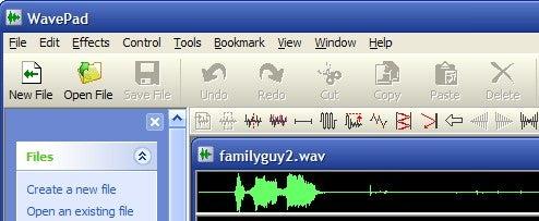 WavePad Offers Full-Featured Audio Editing
