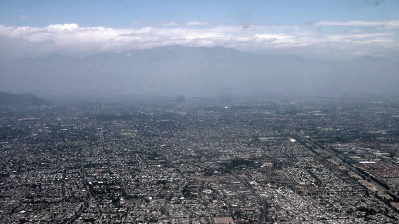 What Smog Over Santiago Looks Like