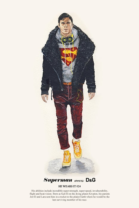 Introducing Superman, Man of Fashion