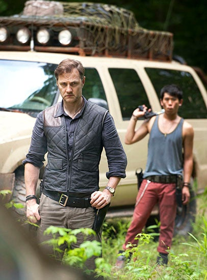 The first look at The Governor from The Walking Dead