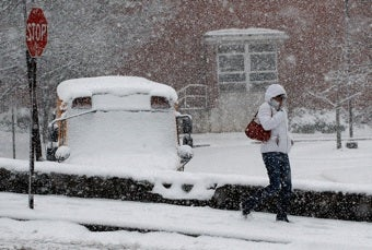 Giant Storm Threatens To Drop Up To 20 Inches Of Snow On The East Coast
