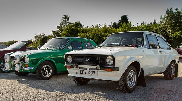 Why the Mk1 and Mk2 Escort will always be my favorite rally car.