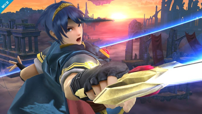 Marth Joins The Smash Bros. Fray, Promptly Seduces Princess Peach